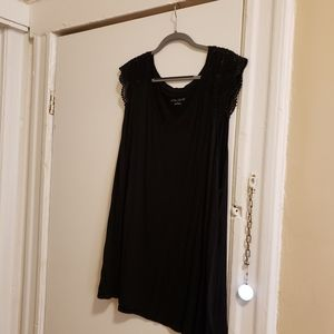 Long Tank with Lace Detail